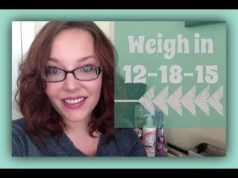 weigh in 12-18-15 {6 weeks on Wheat Belly}