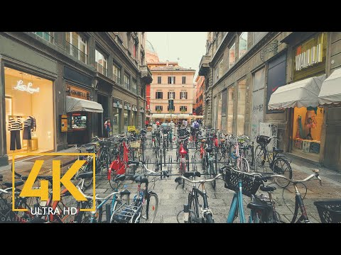 Bologna Walking Tour in 4K - Virtual City Tour - Top Italian Destinations