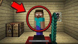 Herobrine is watching me SLEEP in Minecraft Pocket Edition... (Scary Minecraft Video)