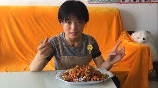 小末视频 鸡脯肉丁土豆丁胡萝卜丁黄瓜丁一起做出炒四丁,回味无穷