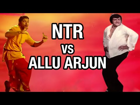 NTR Steps for Allu Arjun's Race Gurram Song | Cinema Choopistha Mava