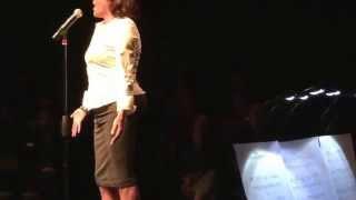 """Alexandra Billings sings """"Creep"""" at Simply Sensational in Chicago 11/02/15. INCREDIBLE!!"""