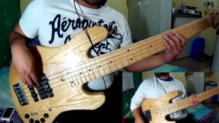5 string jazz bass eadgc tuning funky bass jam