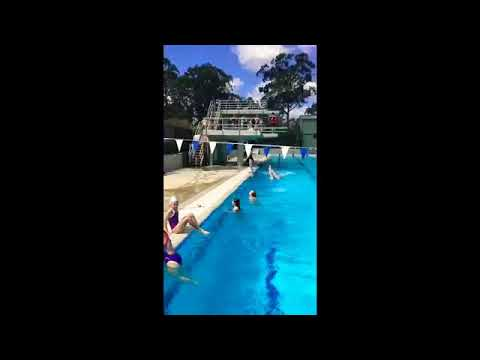 Chandler diving club - welcome spring !!! Celebrating with an outdoor pool session