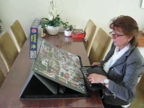 Portapuzzle Pro 1000 Puzzle Mates Jumbo Youtube