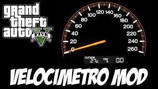 GTA V - Velocímetro MOD