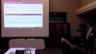 Plenary - Tony Cai, Part 1