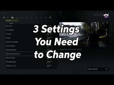 Ghost Recon Breakpoint - 3 Settings You Need To Change