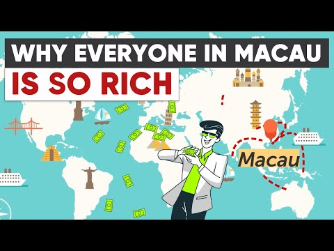 Macau - The Country Where Everyone is Rich