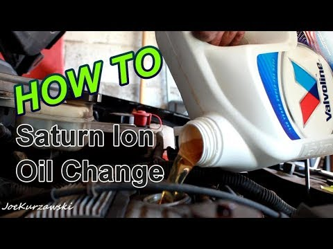 how to change oil in a saturn sl2