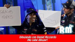 Dibujando con Daniel Ricciardo