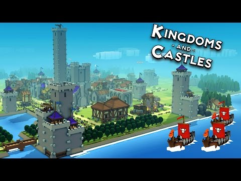 The Grand Castle by the Sea!  Kingdoms and Castles Alpha 4 Gameplay