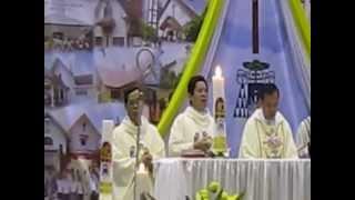 """""""Bapa Kami"""" gaya Mandarin. Lagu oleh Damian Alma. Merangkai Syukur Keuskupan Agung Palembang."""