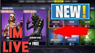 SUB SUNDAY FORTNITE| CLOAKED STAR+ FAR OUT MAN SKIN NOW AVAILABLE IN ITEM SHOP