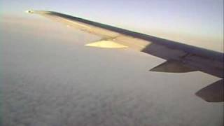 TAROM Flight RO 384 Taxi and in-flight with Boeing 737 Classic YR-BGA
