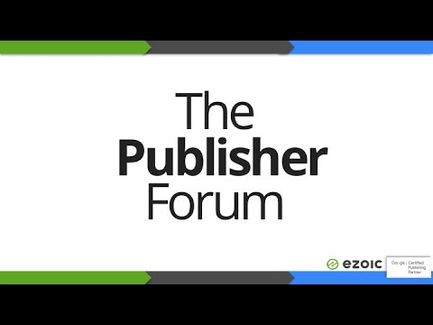 The Publisher Forum - Google Certified Publishing Partner Event