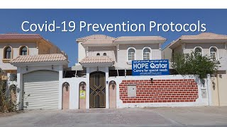 HOPE Qatar Covid-19 Prevention Protocols