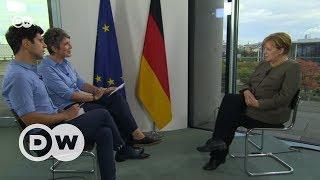 Ангела Меркель в интервью DW