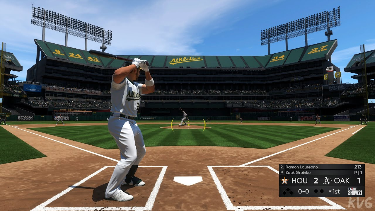 Download MLB The Show 21 - Houston Astros vs Oakland Athletics - Gameplay (PS5 UHD) [4K60FPS]