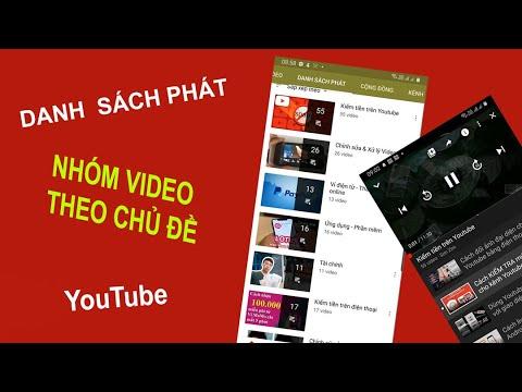 Cách tạo danh sách phát Youtube bằng điện thoại | Tạo playlist Youtube