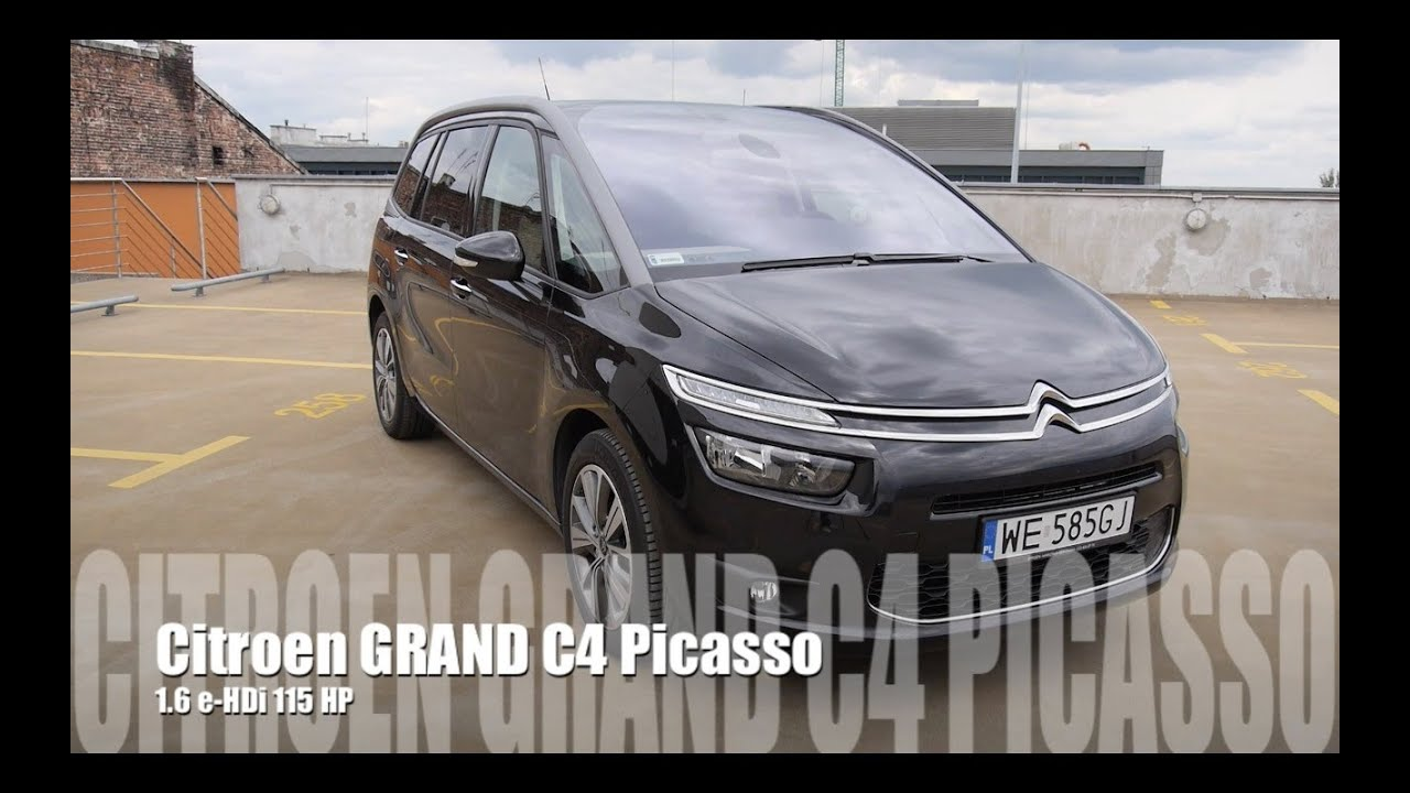 Eng citroen grand c4 picasso 16 hdi test drive and review eng citroen grand c4 picasso 16 hdi test drive and review youtube vanachro Image collections