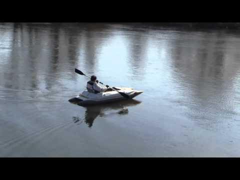 Гребная лодка-катамаран BOATHOUSE