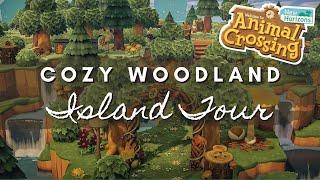 COZY WOODLAND ISLAND TOUR | Animal Crossing New Horizons