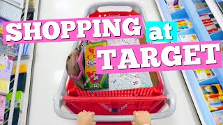 SHOPPING AT TARGET! For Back to School