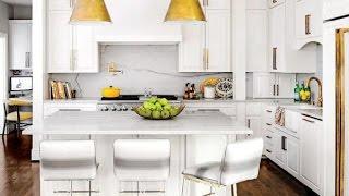 видео Современная маленькая кухня (26 фото): дизайн интерьера кухни 6м в современном стиле