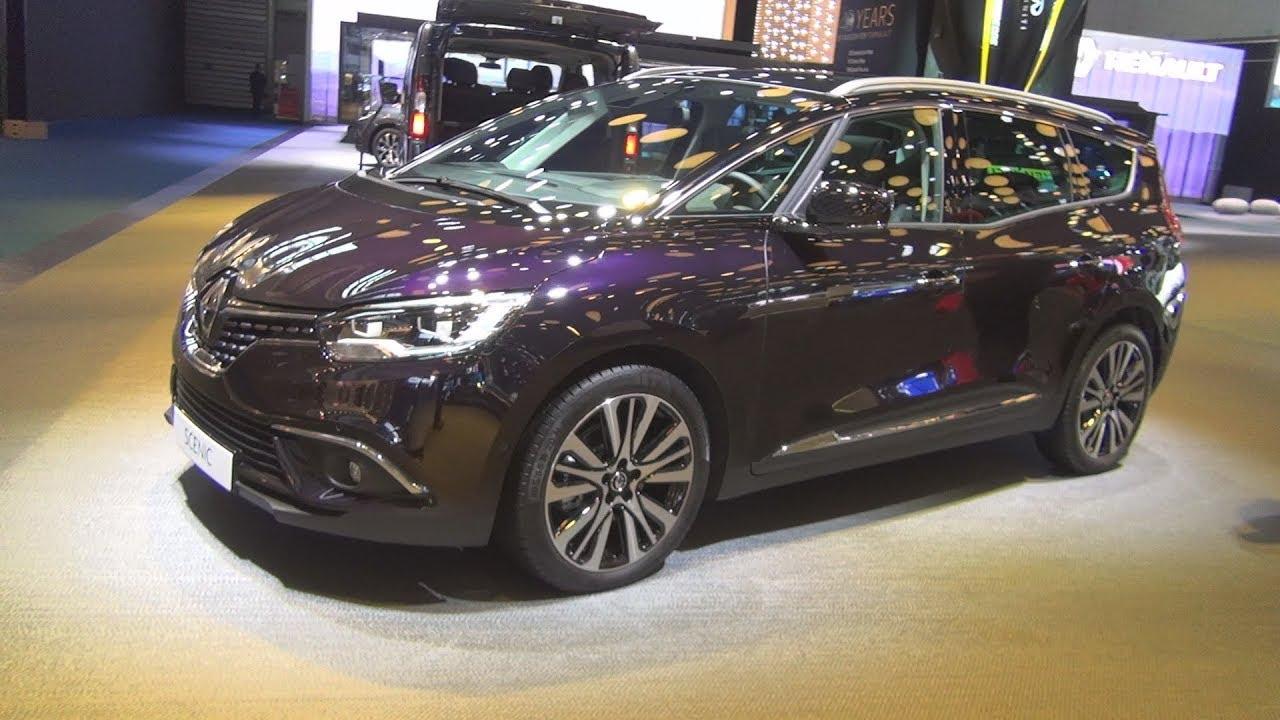 Renault Grand Scenic Initiale Paris Dci 160 Edc 2018 Exterior And