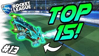 Rocket League BEST GOALS/FREESTYLES #13! - TOP 15 Best Plays, Funny Moments (Community Montage) thumbnail