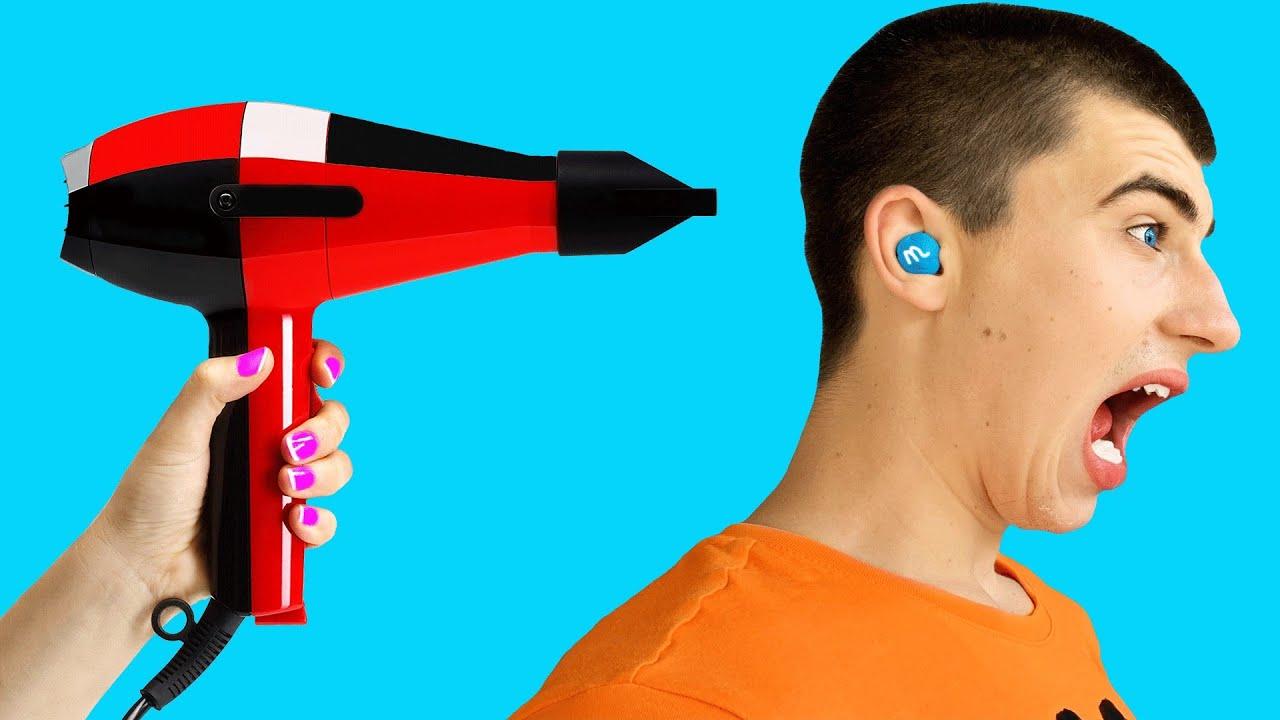 M&M'S STUCK IN MY EAR!