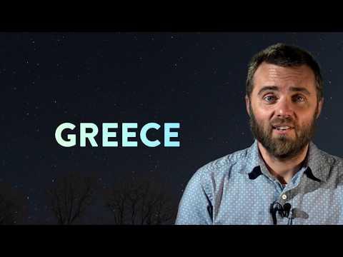 Pray Round The World: Greece  - pray with us now! - 2 min video -  Clayton TV