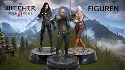The Witcher 3: Wild Hunt – Sammlerfiguren von Geralt, Ciri und Yennefer