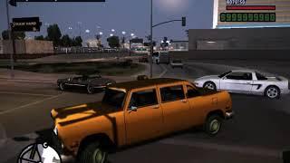 gTA San Andreas Такси: вызвать / поймать / сесть пассажиром  ATPs Taxi  Cleo Mods