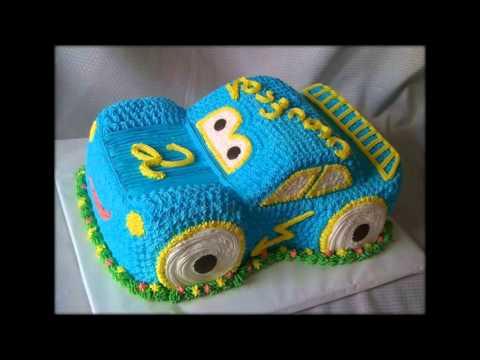 детские кремовые торты фото