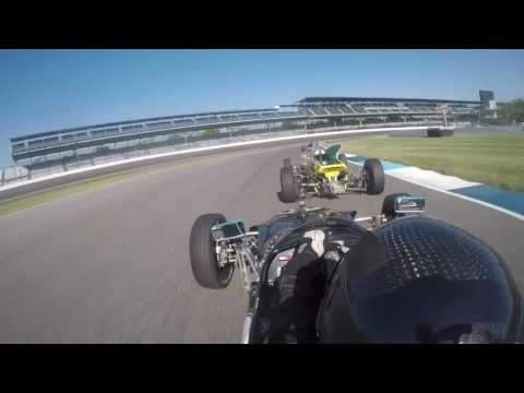 2017 SVRA Indianapolis Formula Ford Championship Race Onboard Ryan Lewis