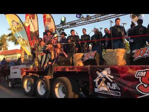Banda Petatlán en la Manifestación de la ExpoGan Sonora 2018