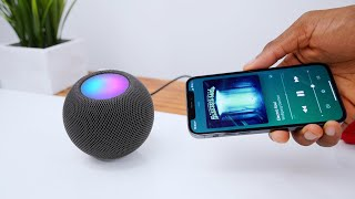 HomePod Mini Review: Big Sound, Tiny Box!