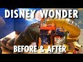 Disney Wonder Before & After (2012/2016) ~ Disney Cruise Line ~ Cruise Ship Redesign Tour