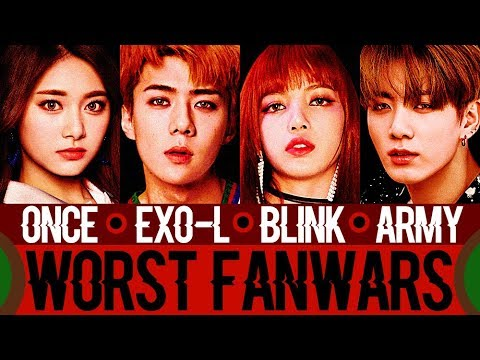 Worst Kpop Fanwars (New Generation) Part 1