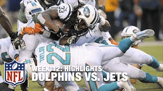 Dolphins vs. Jets | Week 12 Highlights | NFL