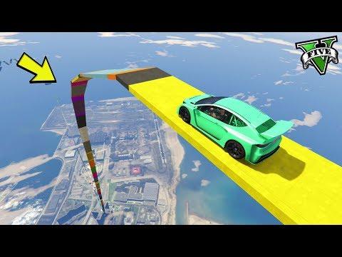 GTA 5 ONLINE 🐷 MEGA RAMPA XXXXL !!!🐷 GARE STUNT 🐷N*200🐷 GTA 5 ITA 🐷 DAJE !!!