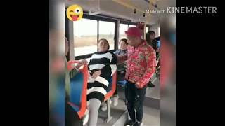 whatsapp funny clip- bus travellers