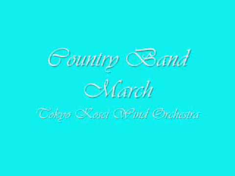 Country Band March.Tokyo Kosei Wind Orchestra.