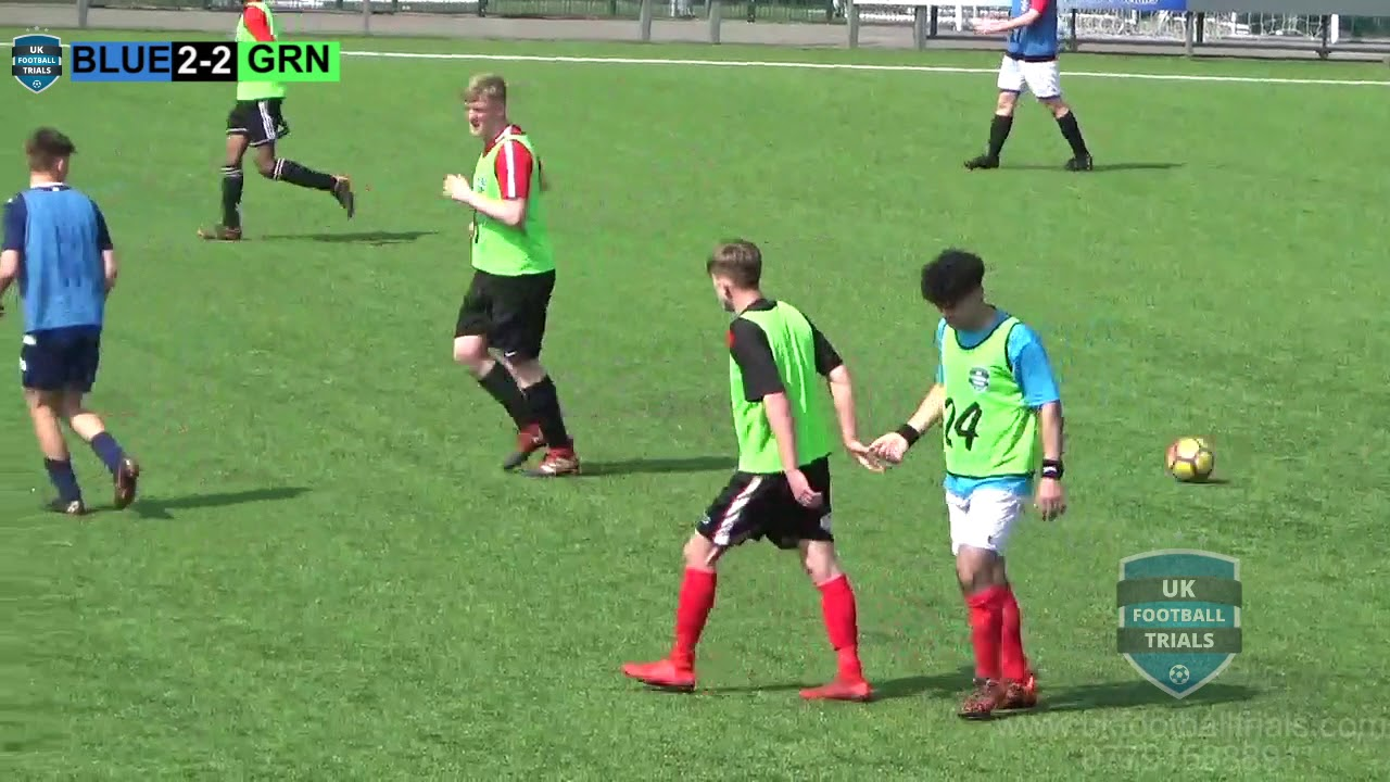 Full Match Footage | Manchester | April 17th 2019 | UK Football Trials