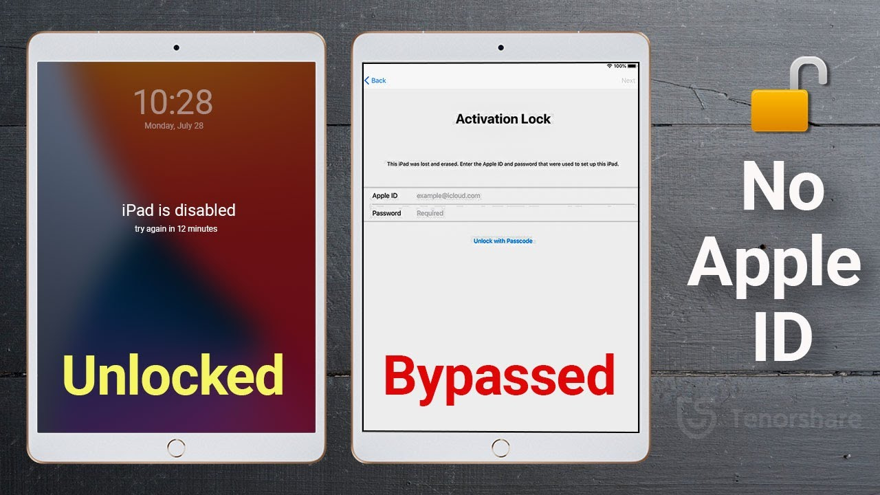 How to Unlock iPad without Apple ID/Activation Lock