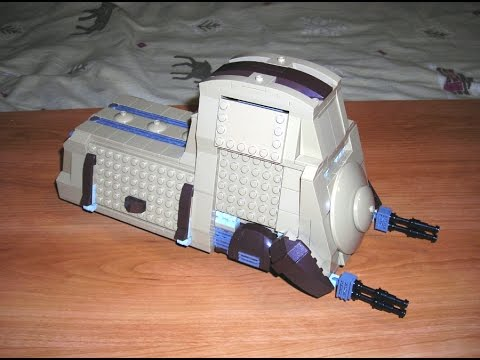 Let's Build! Droideka Carrier MTT: Lego Star Wars MOC