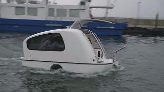 Амфибия на колесах - hi-tech(Что это? С одной стороны, транспортное средство, чувствующее себя как рыба в воде в буквальном смысле. С..., 2015-11-04T14:29:42.000Z)