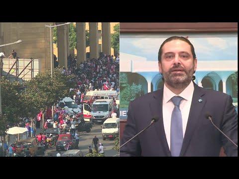 الحريري للمتظاهرين: لقد كسرتم الهوية الطائفية في لبنان  - 15:53-2019 / 10 / 21
